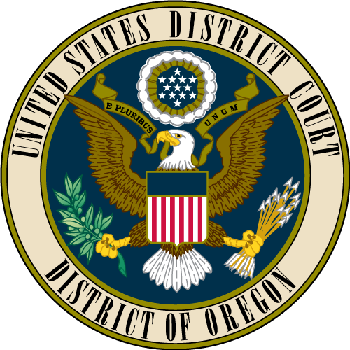 U.S. District Court for the District of Oregon's