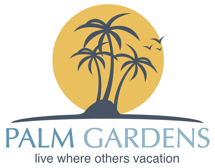 Palm Gardens Mobile Home Park Logo
