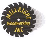 Mill-Right Woodworking's logo width=