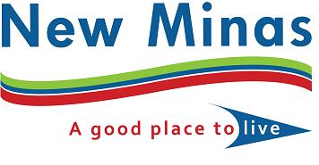 Village of New Minas's logo width=