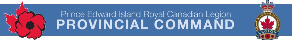 PEI Provincial Command RCL 's