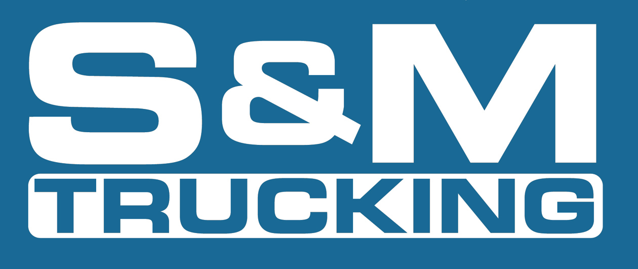S & M Trucking's logo width=