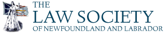 The Law Society of Newfoundland and Labrador's logo width=