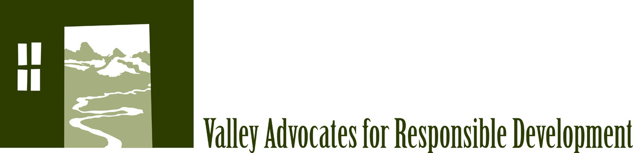 Valley Advocates for Responsible Development's Logo