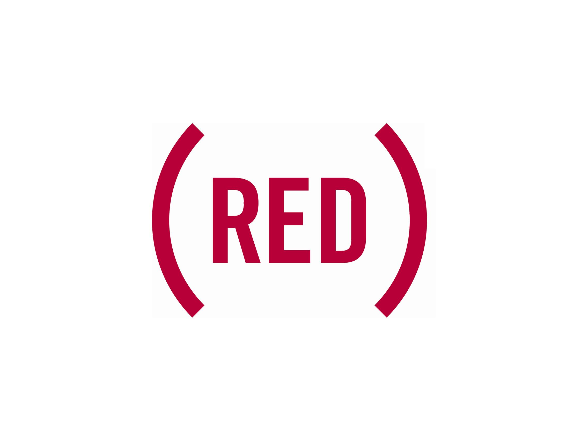 (RED) logo
