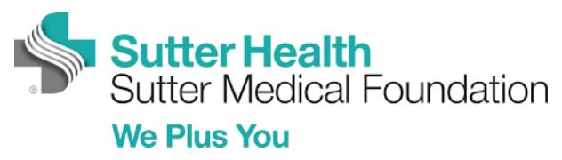 Sutter Medical Group's Logo