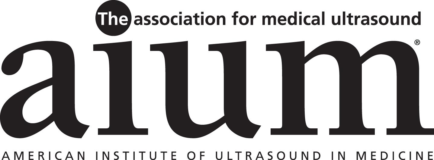 American Institute of Ultrasound in Medicine's Logo