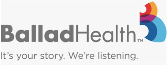 Ballad Health's Logo