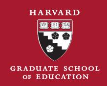Harvard Graduate School of Education's logo