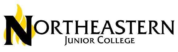 Northeastern Junior College logo