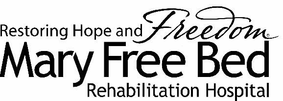 Mary Free Bed Rehabilitation Hospital logo