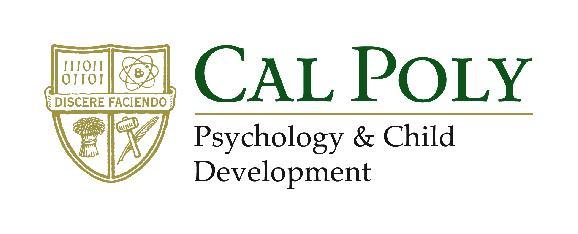 California Polytechnic State University - Psychology & Child Development Department