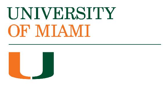 University of Miami Department of Psychology logo