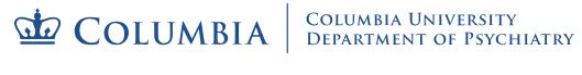 Columbia University Medical Center/New York State Psychiatric Institute - Center for OCD and Related Disorders