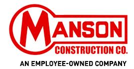 Manson Construction Co. logo