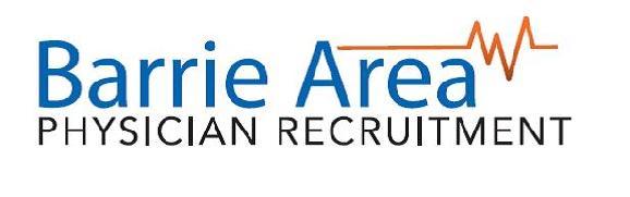 Barrie Area Physician Recruitment/Royal Victoria Regional Health Centre Logo