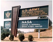 Redstone Arsenal in Huntsvilla, Alabama