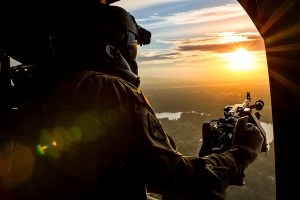 Joint Base Lewis–McChord south of Tacoma, Washington