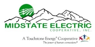 MidState Electric Cooperative logo