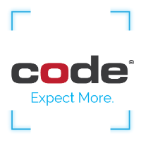 Code Corporation logo