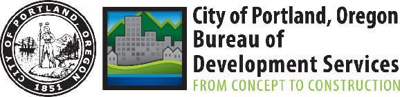 City of Portland, Oregon logo