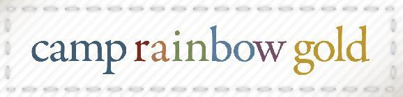 Camp Rainbow Gold logo