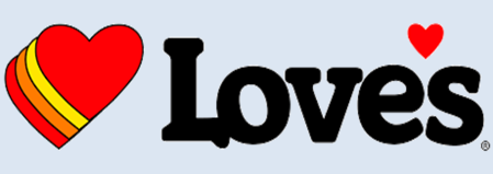 Logo of Loves Travel Stops and Country Store