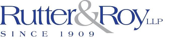 Rutter & Roy, LLP logo