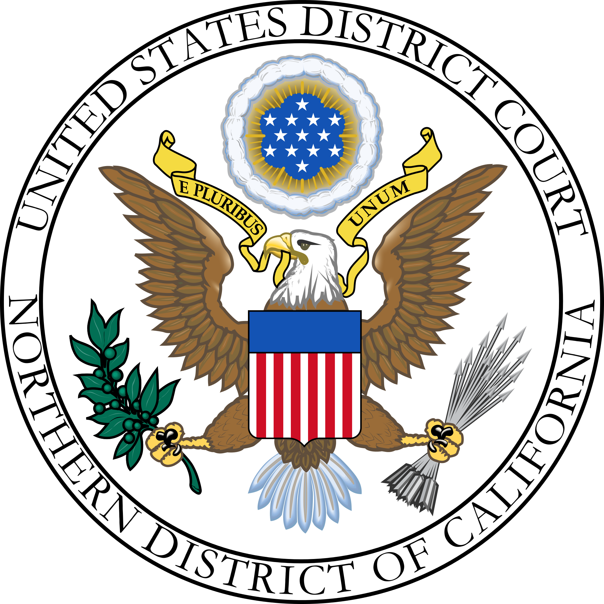 United States District Court for the Northern District of California logo